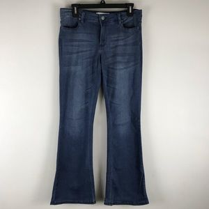 Kenneth Cole reaction modern boot jeans stretch